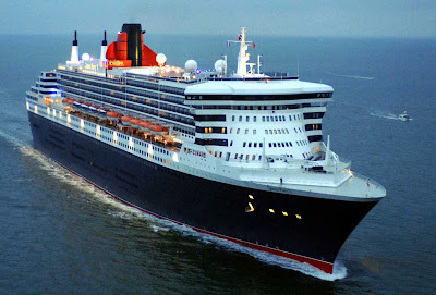 Cunard's Queen Mary 2 Is Undergoing a Refit at Blohm & Voss
