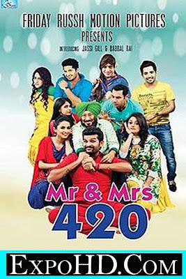 Mr & Mrs 420 _ Latest Punjabi Film Dual Audio UNCUT 720p _ BluRay 1.3GB ESubs Download Free || Watch Online