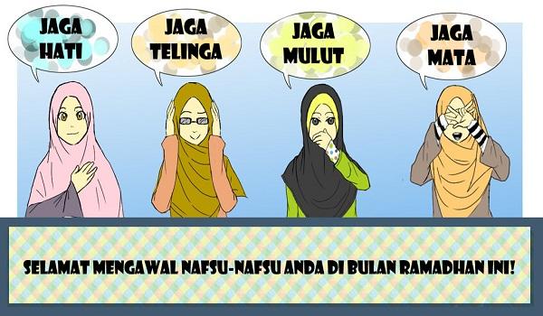 Wallpaper Puasa Jaga Hati
