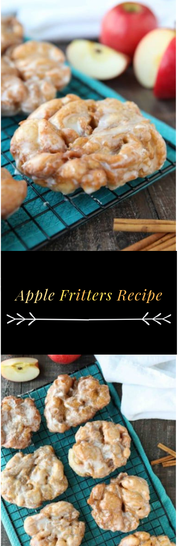 Apple Fritters Recipe #apple #cake