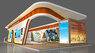 MazicDoor Exhibition Stall design 1