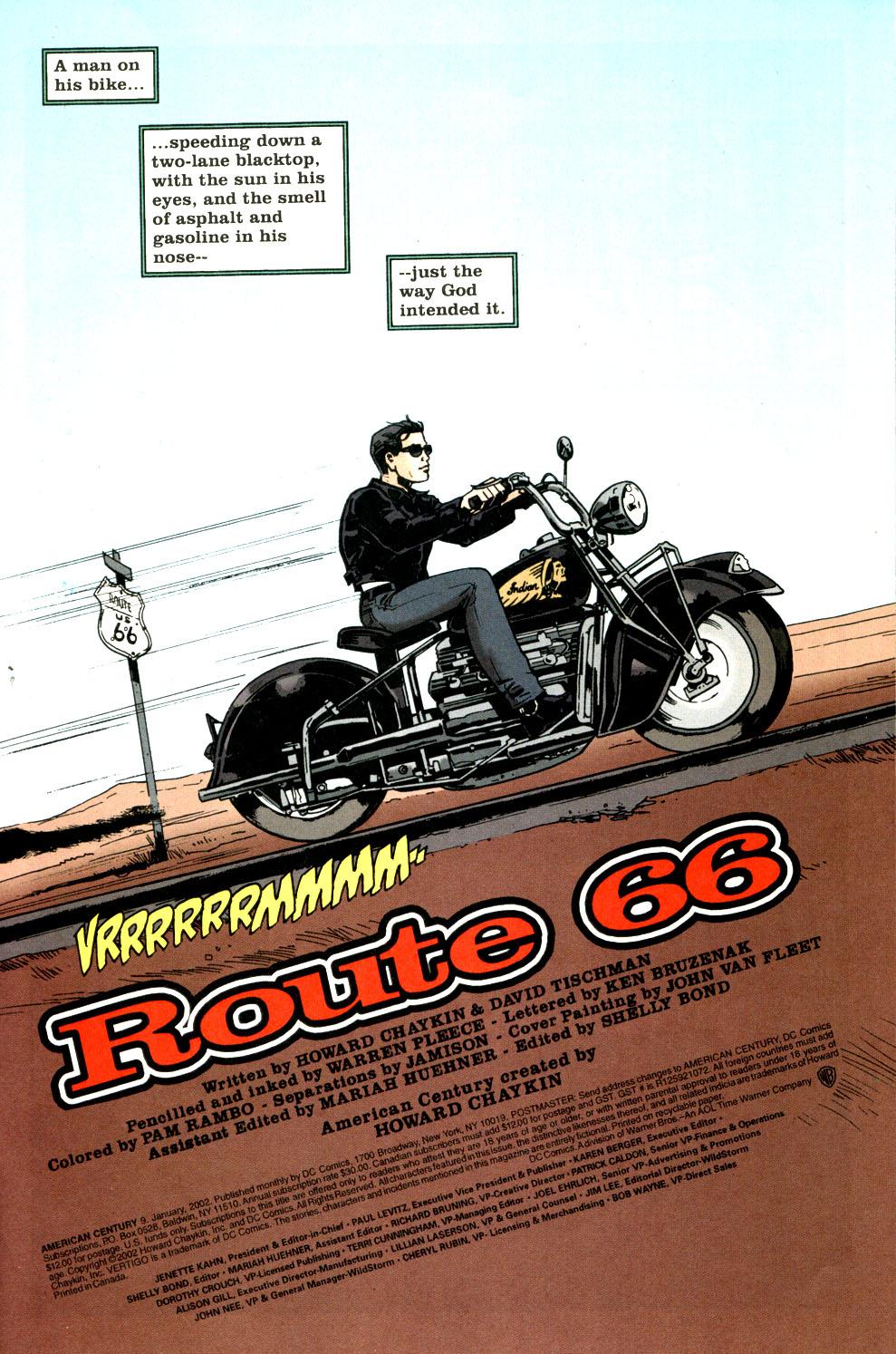 Read online American Century comic -  Issue #9 - 2