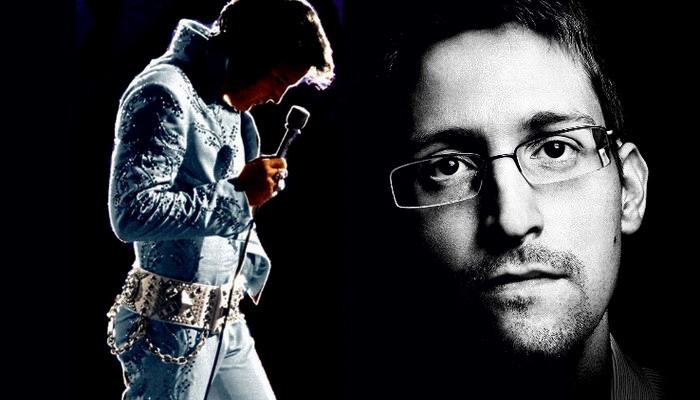 """Edward Snowden: """"Elvis Presley fue asesinado por la CIA"""""""