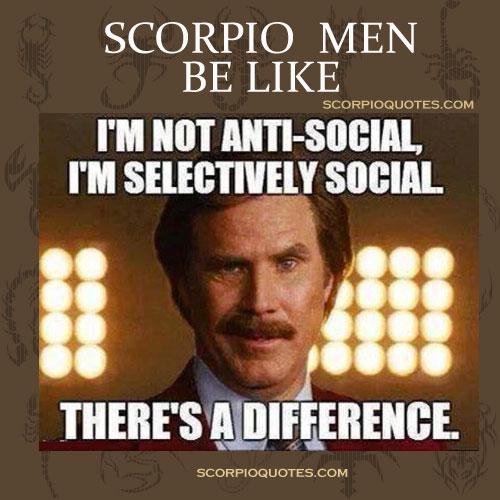 Scorpio Men Be Like | Scorpio Quotes