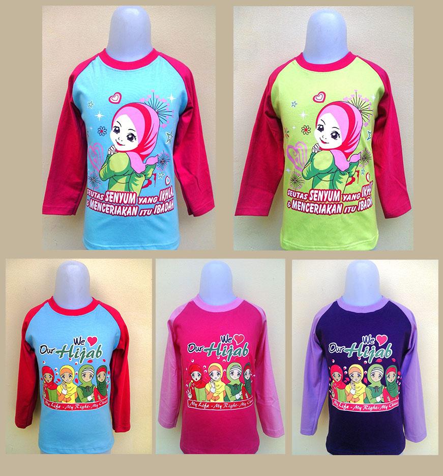 Bunda Noor Kaos Anak Perempuan Grosir Kaos Anak Lucu Kaos