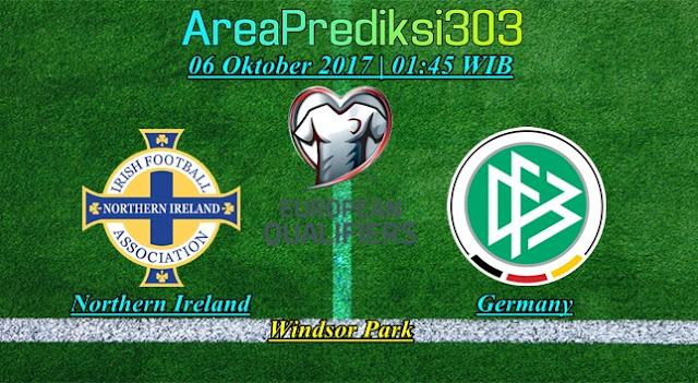 Prediksi Skor Irlandia Utara vs Jerman 06 Oktober 2017
