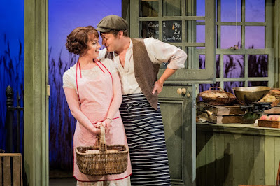 Britten: Albert Herring - The Grange Festival - Kitty Whately, Timothy Nelson (photo Robert Workman)