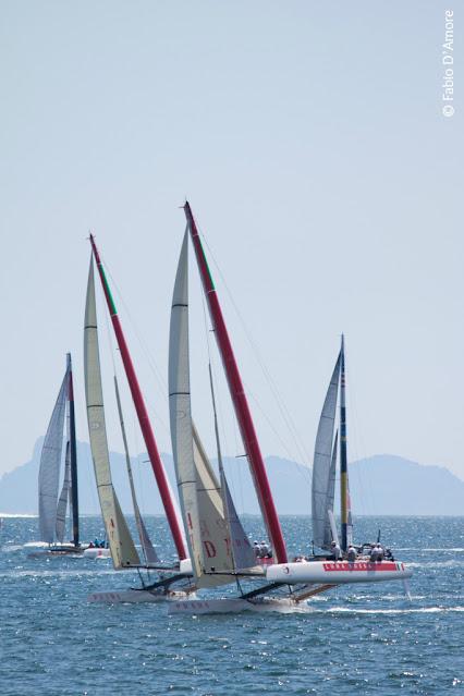 America's cup di vela-Napoli