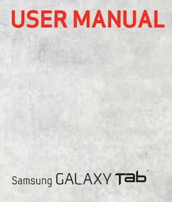 Samsung Galaxy Tab User Manual