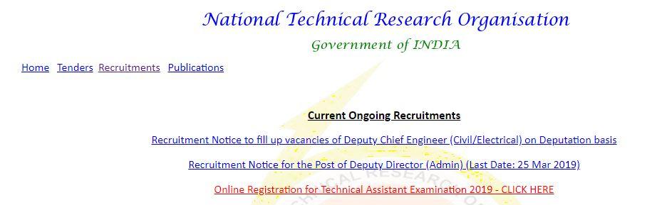 NTRO-Technical-Assistant-Latest-sarkari-naukri-Online-Form-2019