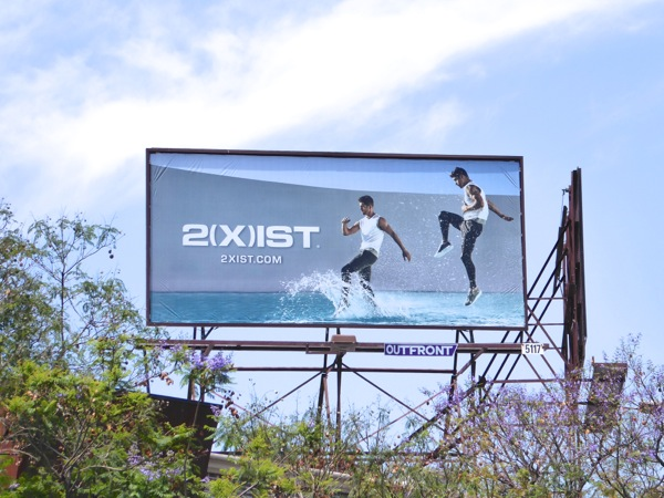 2Xist Summer 2016 activewear billboard