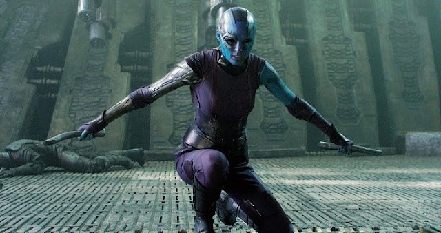 Nebula regresa en Guardians of the Galaxy Vol 2
