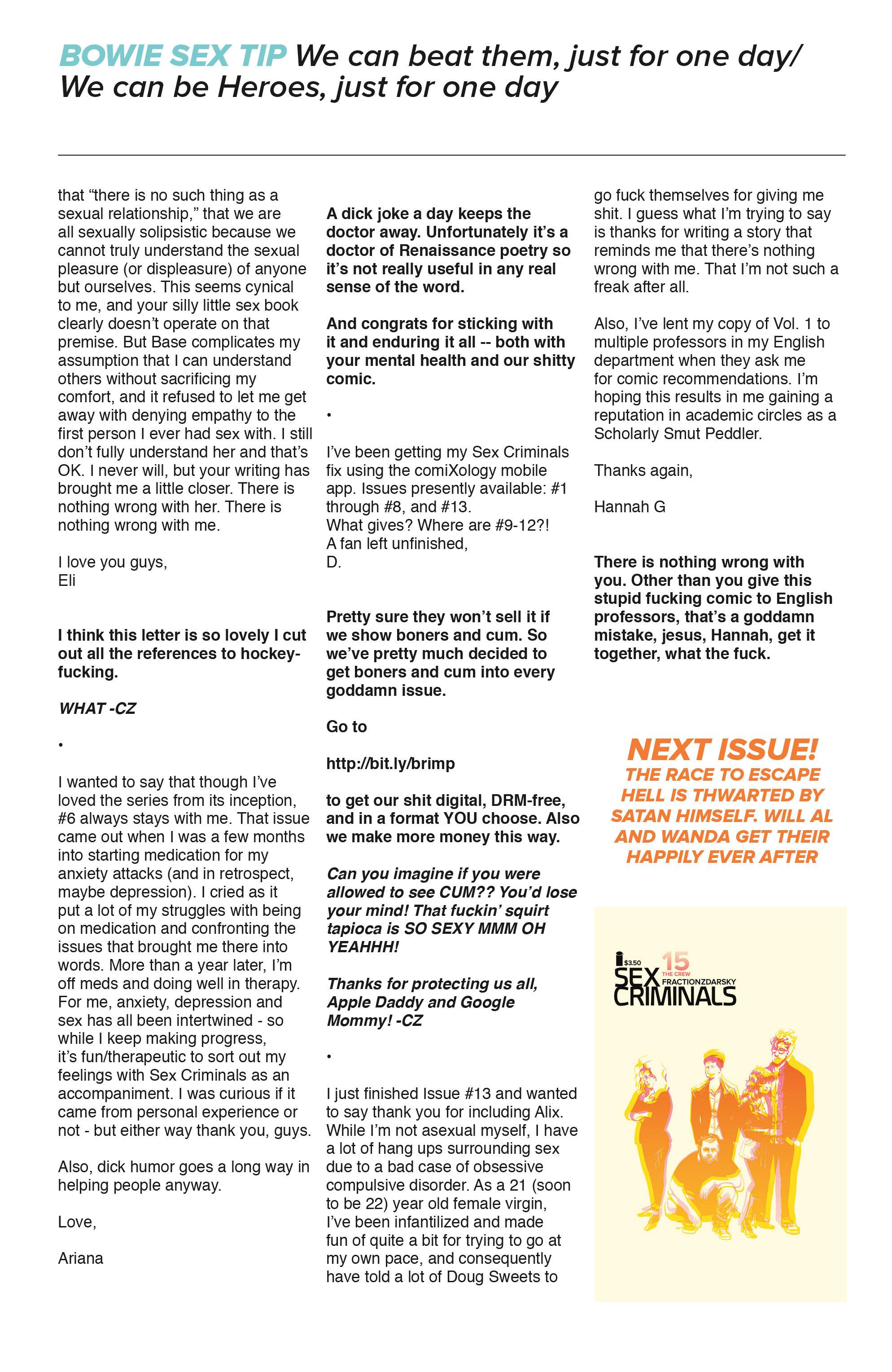 Read online Sex Criminals comic -  Issue #14 - 31