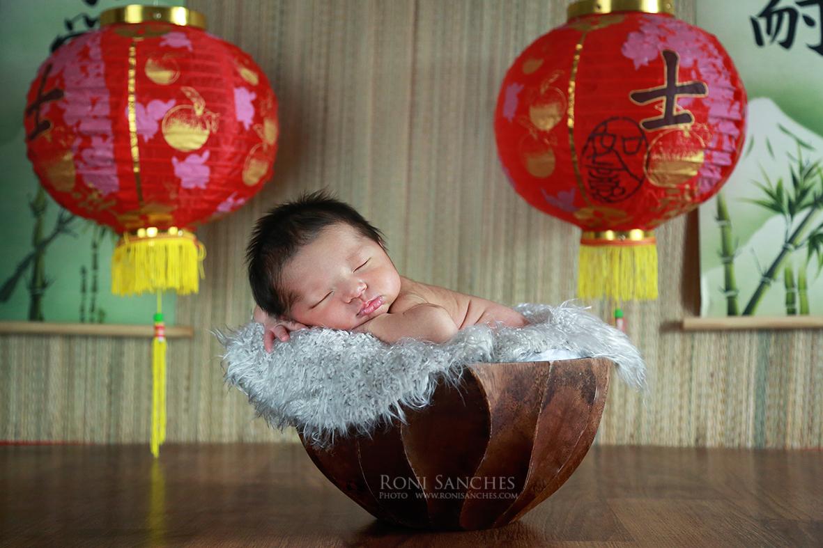 bebê newborn oriental