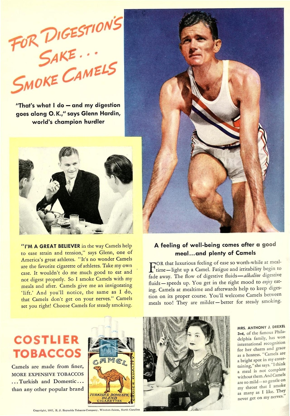 Vintage Healthy Cigarette Ads ~ vintage everyday