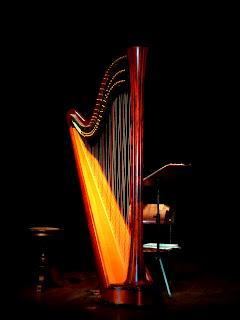 Harpa Usada em Concerto na Casa de Pedra, em Canela