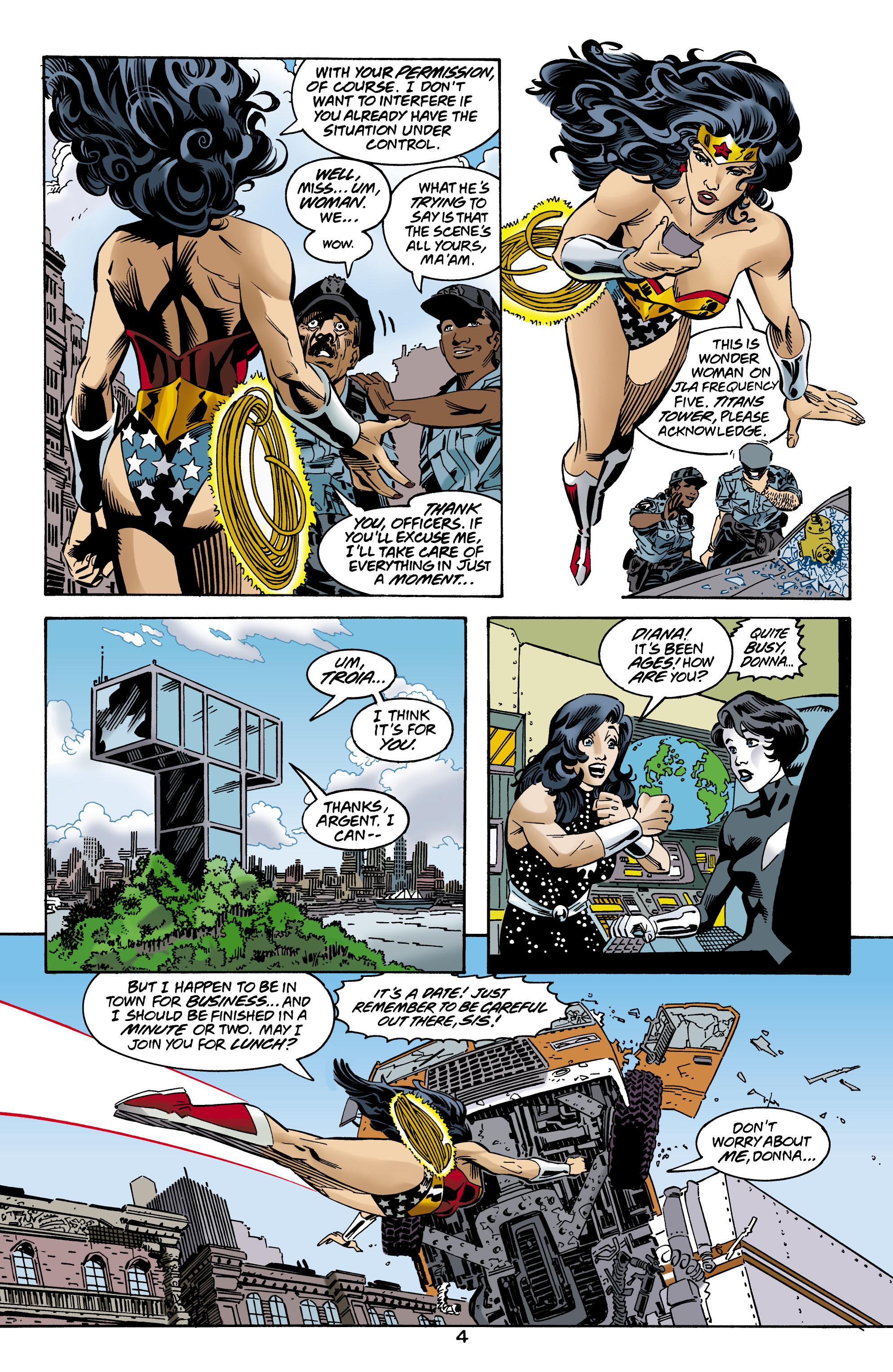 Read online Wonder Woman (1987) comic -  Issue #160 - 5