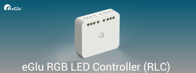 eGlu smart home RGB LED Controller