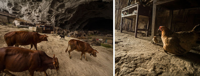 Zhongdong: Το χωριό μέσα σε σπήλαιο