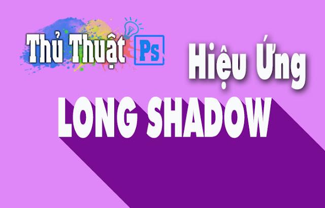 Tạo hiệu ứng Long Shadow trong Photoshop