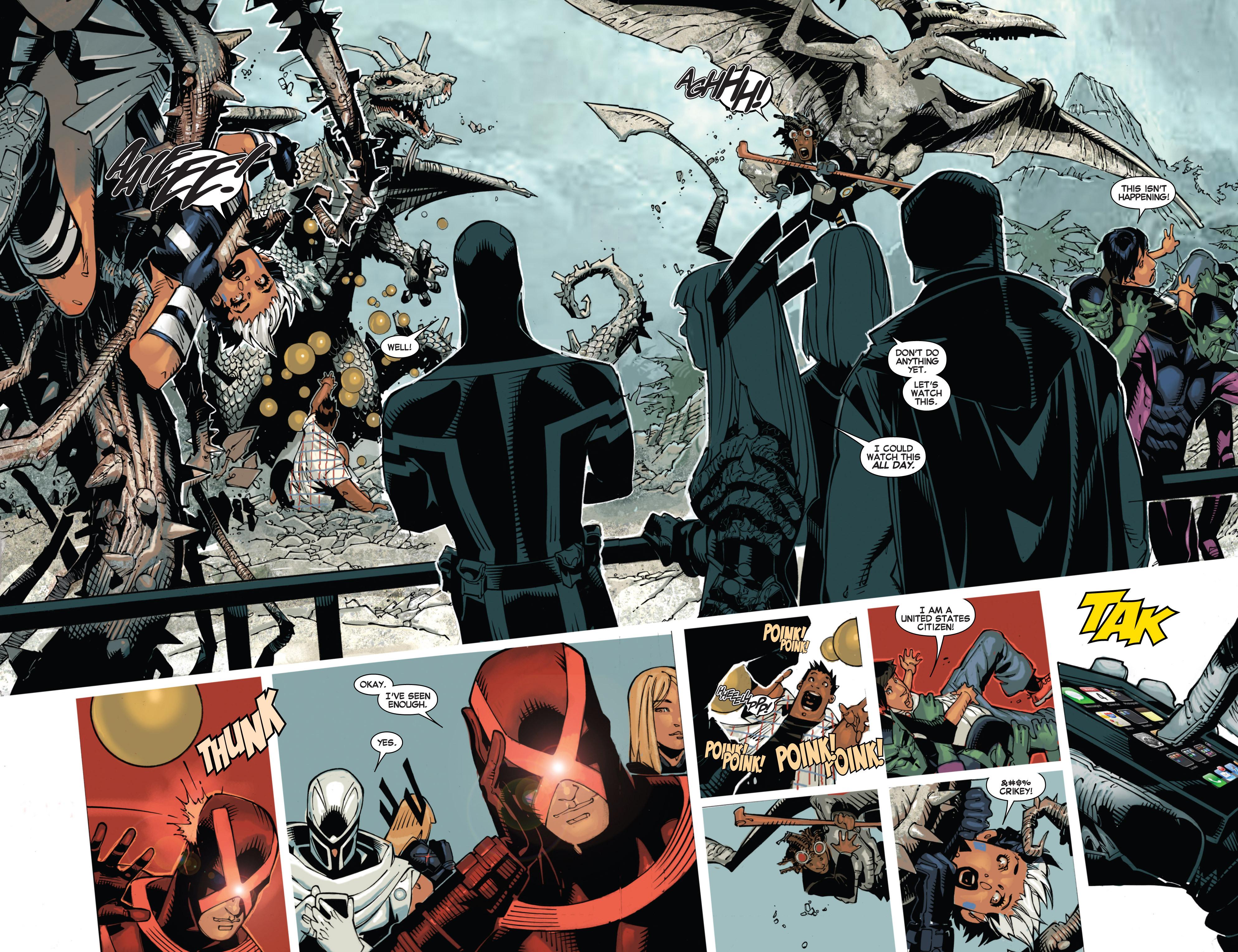 Read online Uncanny X-Men (2013) comic -  Issue #4 - 13