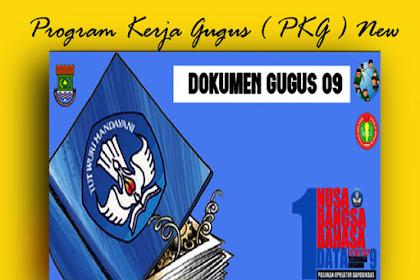 Download Contoh PKG Program Kerja Gugus Versi Words
