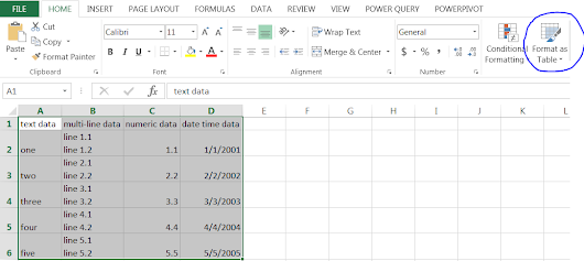 Exporting Excel tables into a SharePoint list and vice versa