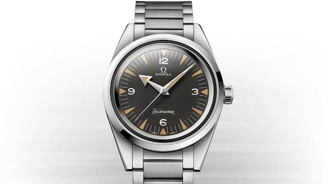 Omega 1957 Trilogy 60th Anniversary Railmaster