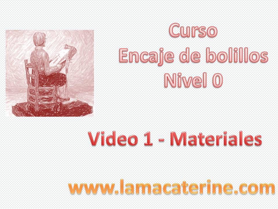 Curso gratuito para aprender a hacer encaje de bolillos desde Nivel ...