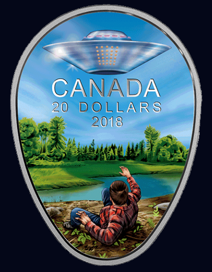 Canadian UFO Coin