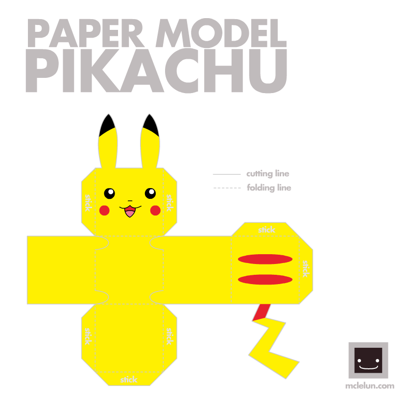 Easy Papercraft Pokemon Papercraft