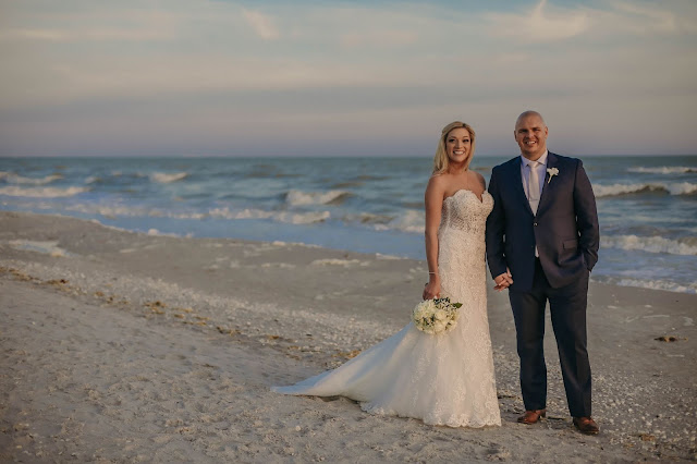 Sanibel island destination wedding photograph