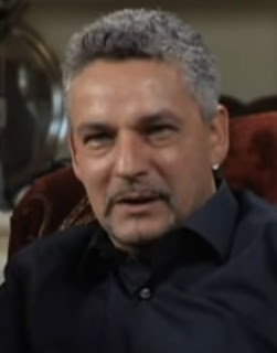 Robert Baggio during a recent television documentary reflecting on his career