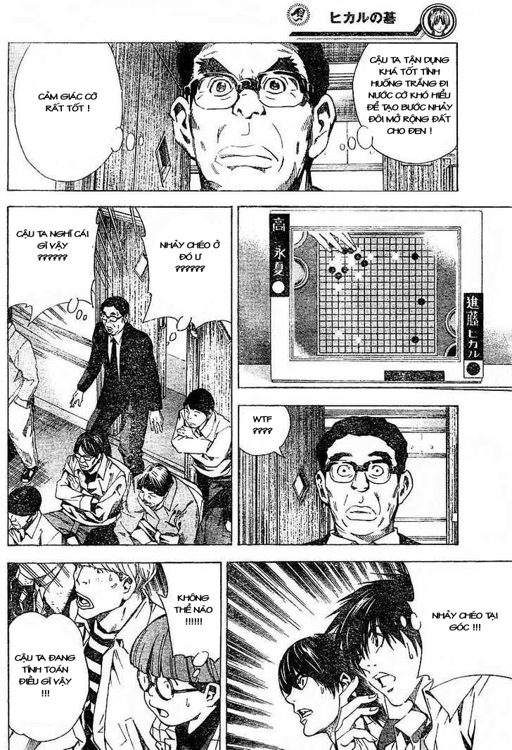 Hikaru No Go hikaru no go chap 184 trang 16