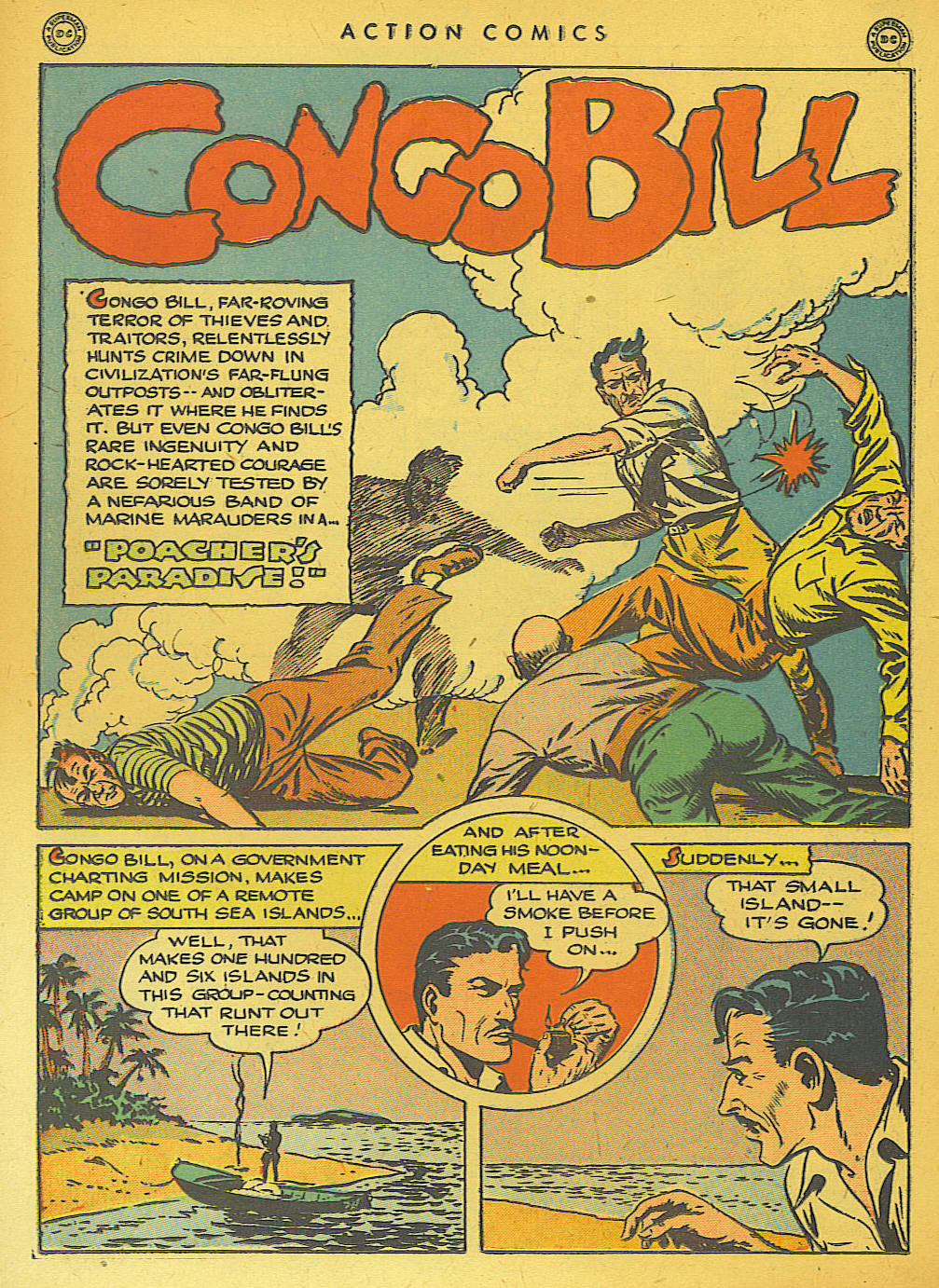 Read online Action Comics (1938) comic -  Issue #74 - 32