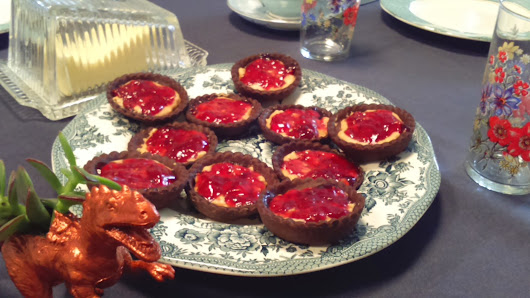 Peanut Butter and Jelly Tarts