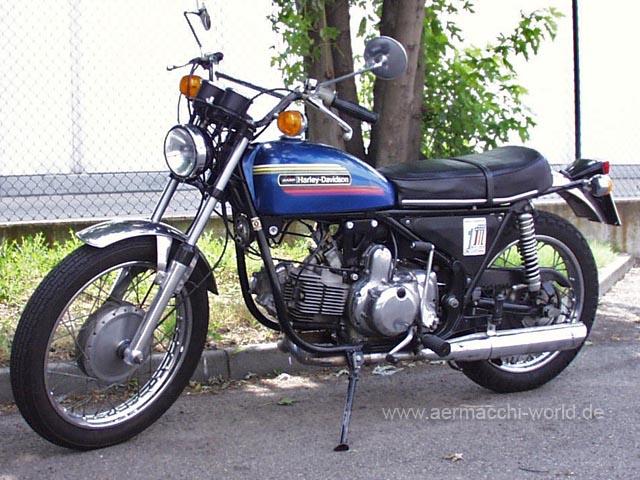 Harley Davidson Aermacchi SS-350 Sprint