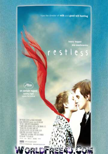 Poster Of Restless (2011) Full Movie Hindi Dubbed Free Download Watch Online At worldfree4u.com