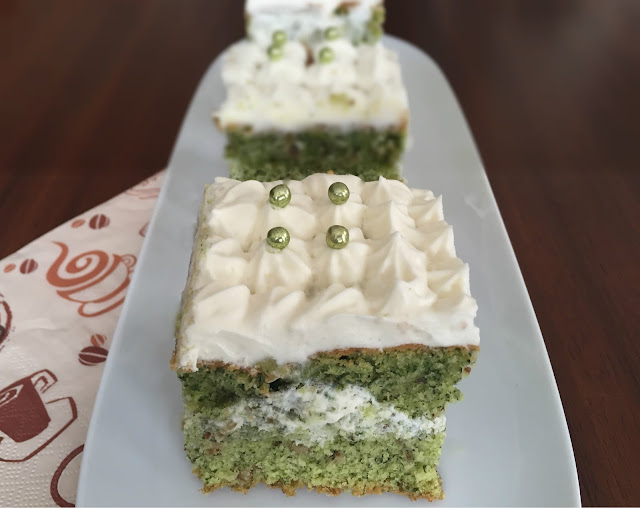 Ispanaklı kek tarifi, Kek Tarifleri, Kişniş, Kisnis, Çay, Nefis, Kolay, İkram, kek, pasta, kremalı