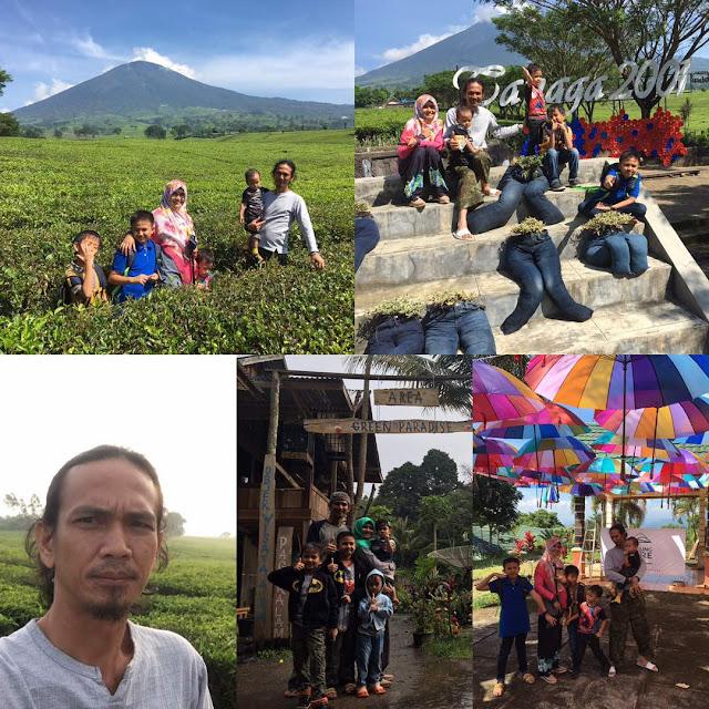 Balon Wabup Lahat 2018 (Eeng Muda) Plesiran Ke Kota Pagar Alam