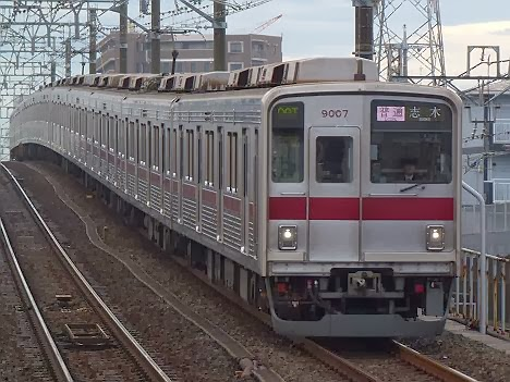 東京メトロ副都心線 普通 志木行き1 東武9000系