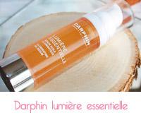 Sérum huile illuminateur  Lumière essentielle de Darphin