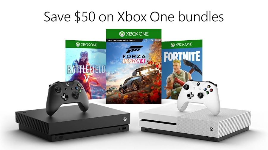xbox one bundle deal fortnite battlefield 5 fallout 76 microsoft