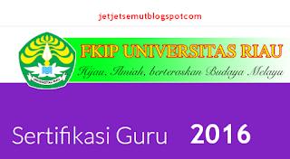 PLPG Rayon 105 Universitas Riau