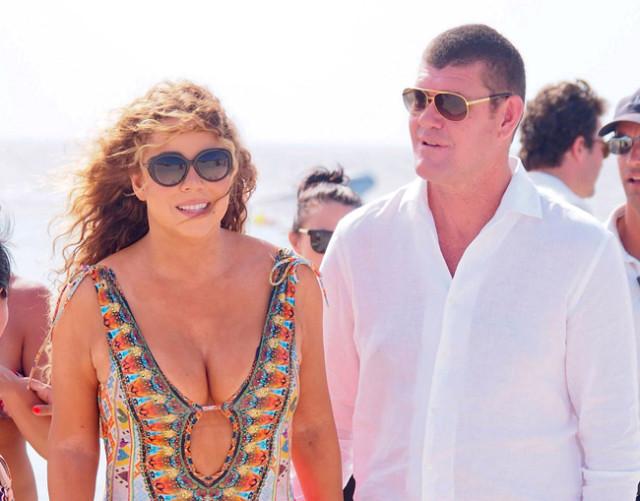 Mariah Carey habla sobre el vestido que usará en su boda.