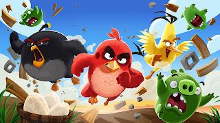 Semoga kita semua di beri kesehatan dan apa yang kita harapkan dapat dengan lancar terpen Angry Birds v2.12.2 New Version For Android