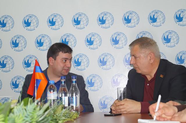 Հանդիպում ՀՀ ԱԺ պատգամավոր Սերգեյ Բագրատյանի հետ