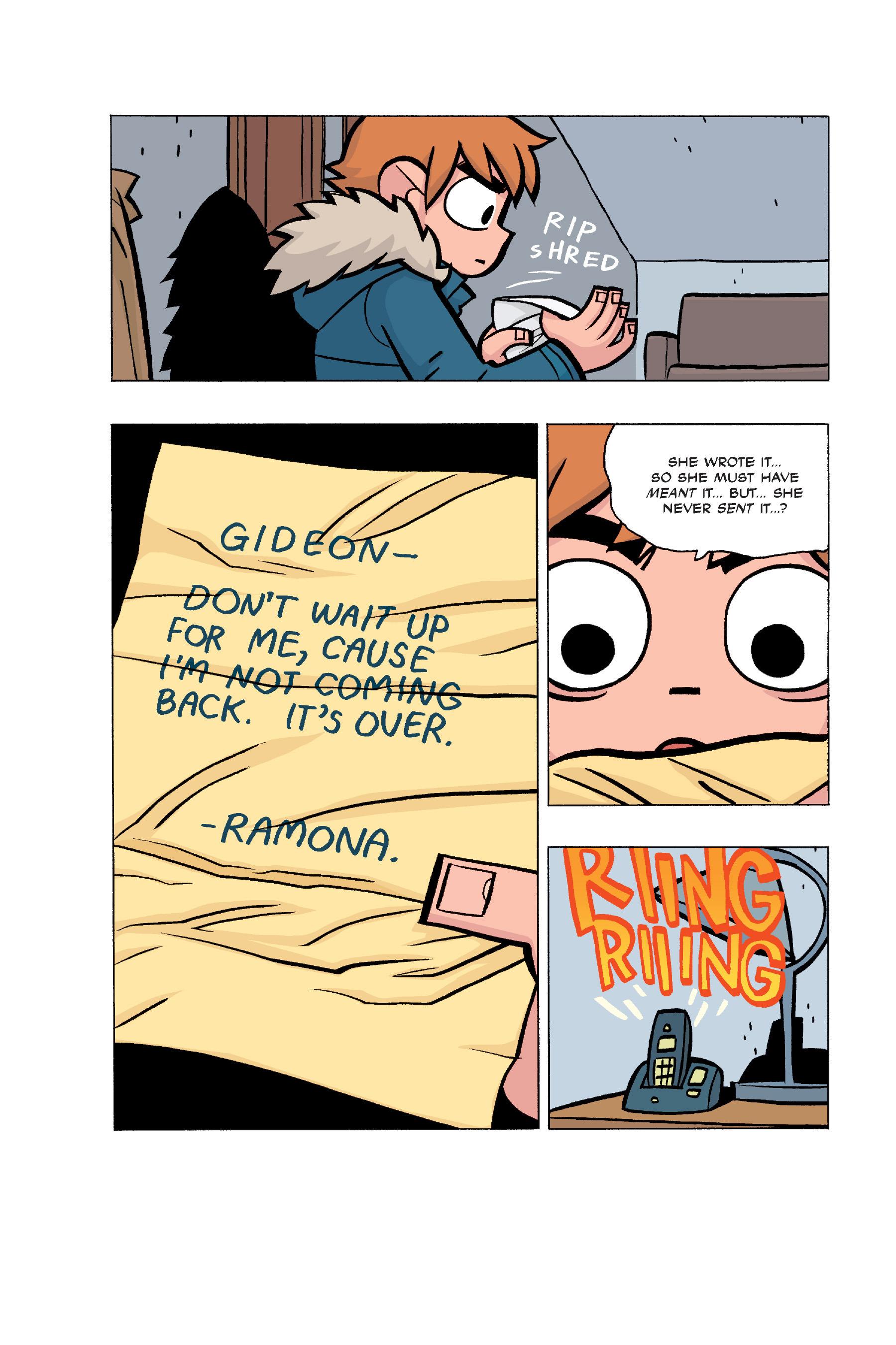 Read online Scott Pilgrim comic -  Issue #5 - 172