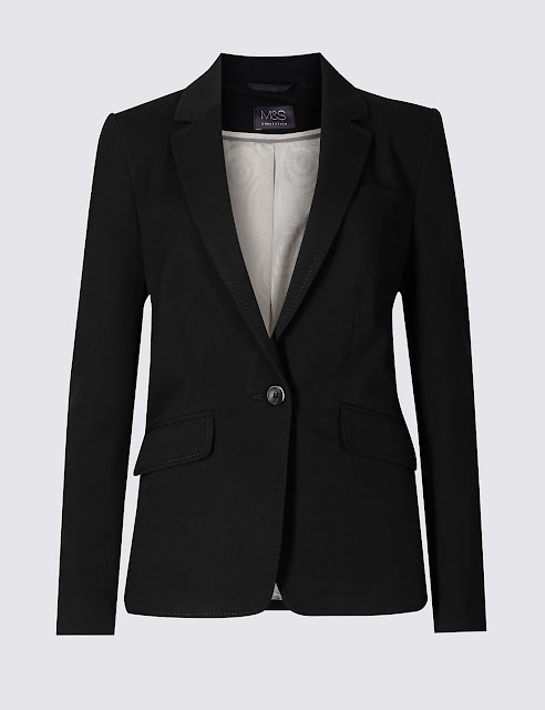 Marks and Spencer 1 button longline jacket