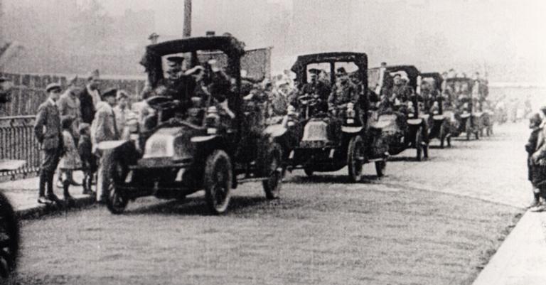 Reforços aos aliados na Primeira Guerra Mundial